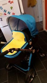 3 in 1 pram with extras