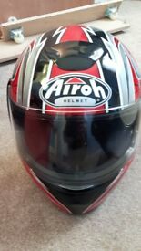 Airoh crash helmet