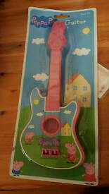 Peppa mini guitar