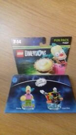 LEGO DIMENSIONS FUN PACK 71227 THE SIMPSONS KRUSTY AND CLOWN BIKE