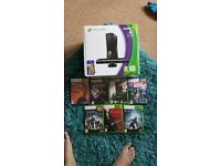 Xbox 360 in great condition with 7 games