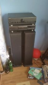 Technics cd/amp and Mission speakers
