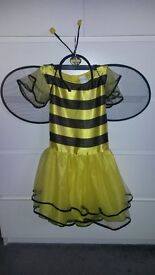 Halloween Bee Costume Age 6-7 years
