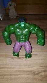 Large talking hulk