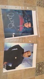 Star Trek Voyager autographs - Robert Duncan McNeill and Robert Picardo