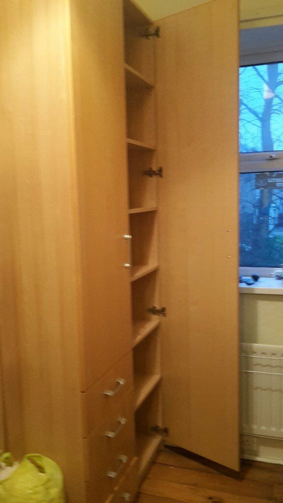 2 single Ikea wardrobes - excellent condition