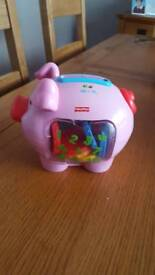 Fisher Price musical coin pig