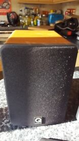 Q Acoustics 1010 Bookshelf Speakers 15-75W 6 Ohms
