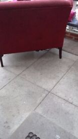 Hsl 2 seater settee for sale good condition small frayed area at the back