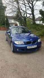 BMW 118D M SPORT FOR SALE, FULL BMW SERVICE HISTORY.