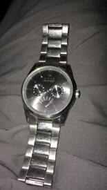 Men's Heritage Charcoal Day/Date Dial Watch