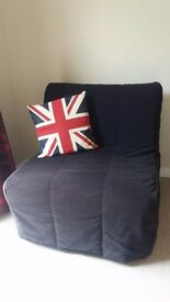 Ikea Lycksele - Bed Settee (Single seater), barely used and in excellent condition