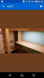 children's loft bed with desk