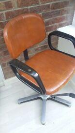 German retro vintage olymp hairdressing chair
