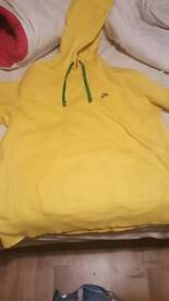 Limited Edition Yellow And Green Nike Hoodie
