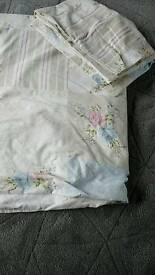 King size duvet cover with 2 pillowcases George/Asda shabby chic country print
