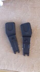 Mothercare orb adaptor for maxi cosi /cybex car seat