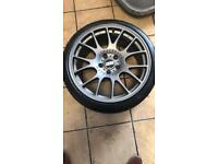 "19"" Alloy wheels suit Vauxhall or Bmw"