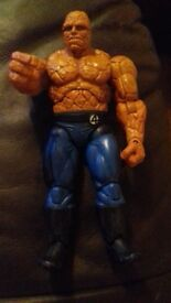 "THE THING 7"" FANTASTIC 4 MARVEL ACTION FIGURE *PAYPAL ACCEPTED* GREAT CONDITION, NO MARKS"