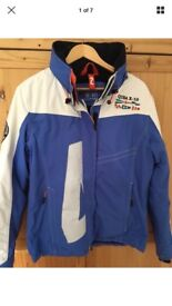Quba Sails X10 Ladies Sailing Jacket White and Blue