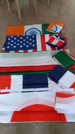 Large International Flags