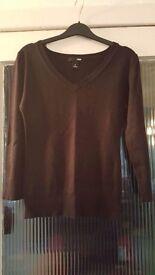 Black ladies small H&M jumper
