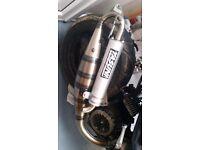 Yasuni exhaust, Moped Gilera Speed fighter