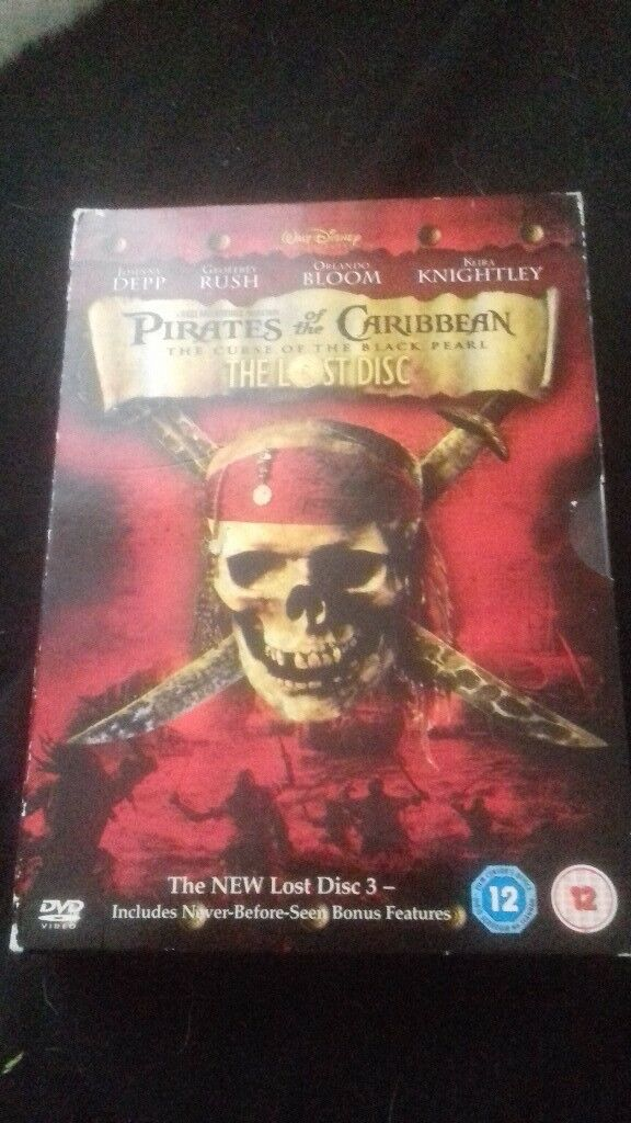 Pirates Of The Caribbean Dvd Set In Southampton Hampshire Gumtree