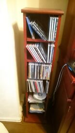 Wooden CD Stand