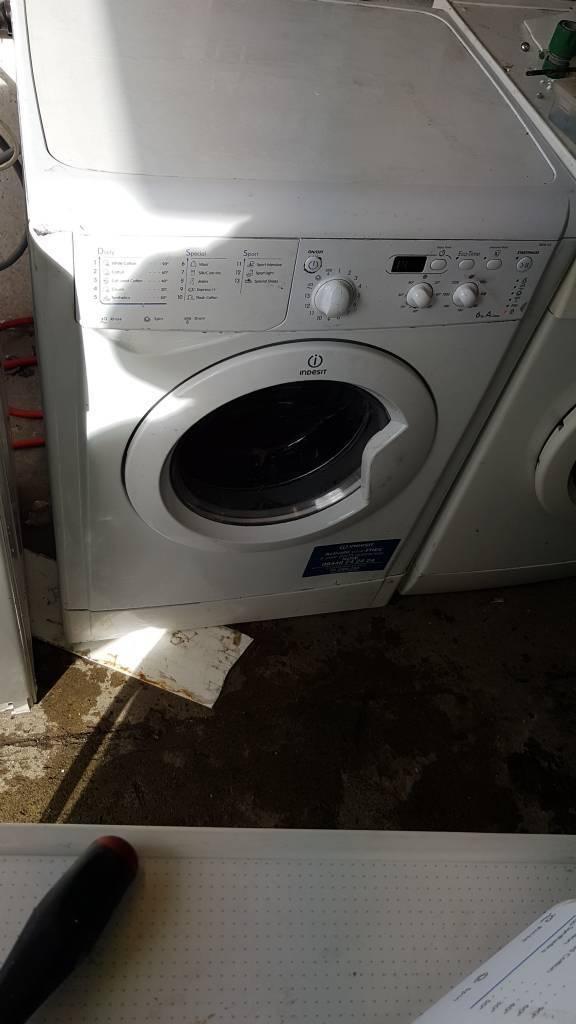 Indesit 7kg washing