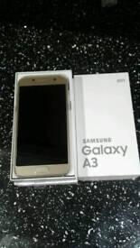 Samsung Galaxy a3 2017 unlocked gold mobile phone