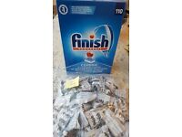 Dishwasher Finish Powerball Classic Tablets Unopend Box 110 plus 78 extra tabs for sale  Dorset