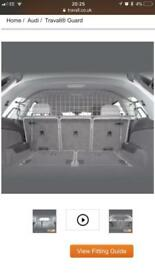 Audi Q7 Travall dog gate and divider