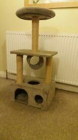 3 tier cat scratch pole