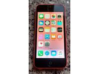 Pink iPhone 5c 16gb Orange T-Mobile Virgin!