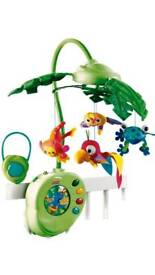 Fisher Price cot musical - jungle