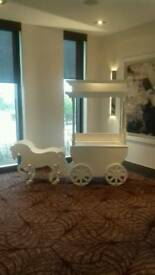 Candy Cart with horse and Carriage hire only