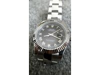 *BRAND NEW* 42mm Big Face Rolex Datejust II with oyster bracelet + Box&Papers (£120 watch alone)