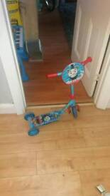 Child's 3 wheeled scooter