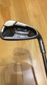 Ping G20 irons 4-SW. As new