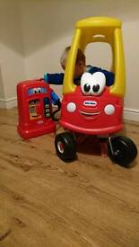 Little tikes cozy coupe an coupe pump ⛽