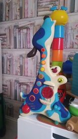 "Toy guitar by ""B toys"""