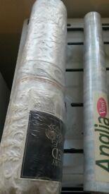 Various Rolls of Wallpaper