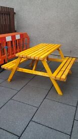 picnic bench / table