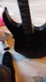 Ibanez guitar for sale comes with guitar case