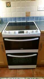 Zanussi induction double oven cooker