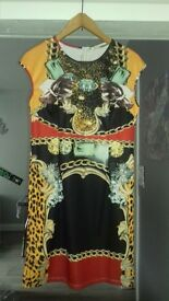 stylish coloured dress