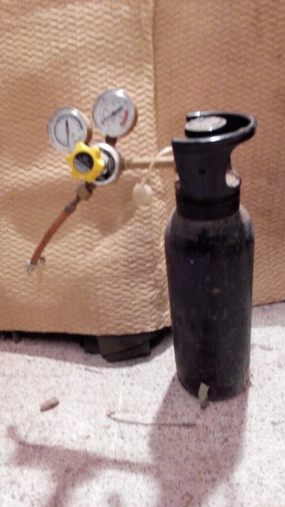 Co2 gas bottle