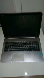 HP ENVY TouchSmart m6-k015dx Sleekbook PC (Damaged Motherboard not working for parts or repairs)