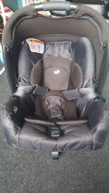 Black joie gemm car seats